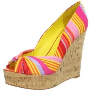 Nine west colorful chillpill wedges